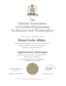 how to become certified engineering technologist